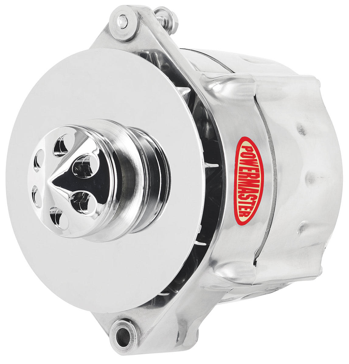Photo of Alternator, Smooth Look 1-Groove Pulley polished, 100-amp