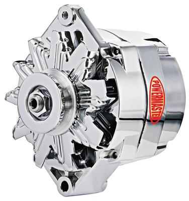 Alternator, Performance 12si (150-Amp, Int. Reg.) Chrome