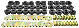 1964-67 LeMans Body Bushing Kit, Urethane (Aftermarket) Convertible, by Prothane