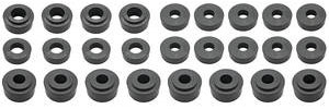 1970-1972 Monte Carlo Body Bushings, Aftermarket Urethane, by Prothane