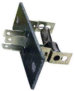 1970-1975 Monte Carlo Blower Motor Resistor without AC (3-Prong)