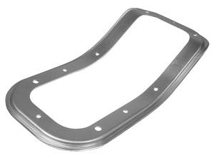1968-72 El Camino Shift Bezel, Floor (Steel) w/Console