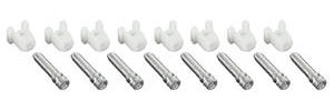 1961-67 GTO Headlight Adjustment Screw 8 Screws/8 Nuts