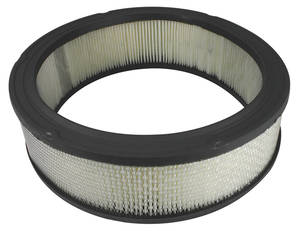 "1964-1977 Chevelle Air Cleaner Filter Element 12"" X 3"", Closed Air Cleaners Only"