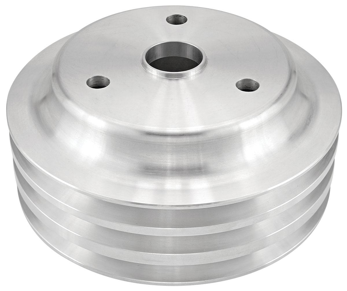 Photo of Pulley, Big-Block Aluminum crankshaft, triple