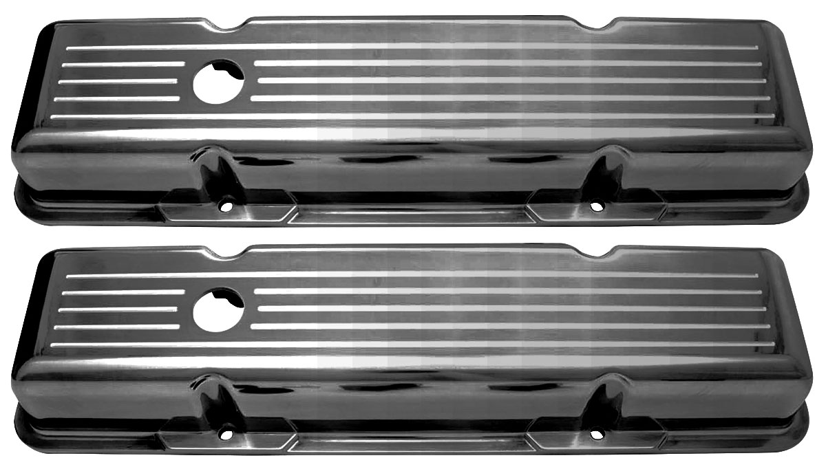 Photo of Valve Covers, Small-Block Aluminum ball-milled