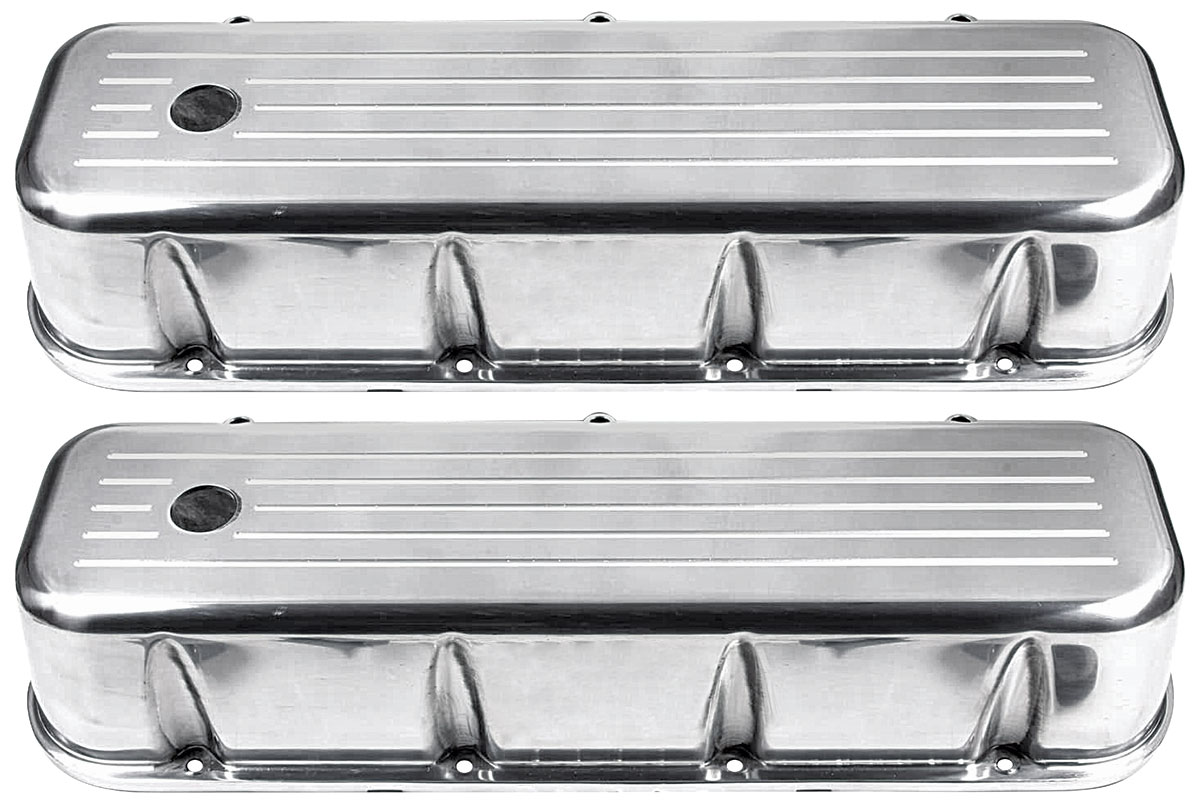 "Photo of Valve Covers, Big-Block 3-11/16"" Aluminum"