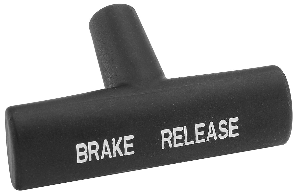 Photo of Chevelle Parking Brake Release Handle black