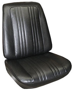 Seat Upholstery, 1967 Parisienne 2+2 Buckets, by PUI