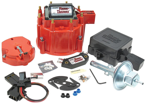 Photo of Catalina/Full Size Distributor Accessory, Flame-Thrower HEI Tune-Up Kit red