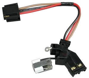 1961-73 Tempest Distributor Accessory, Flame-Thrower HEI Wiring Harness and Capacitor