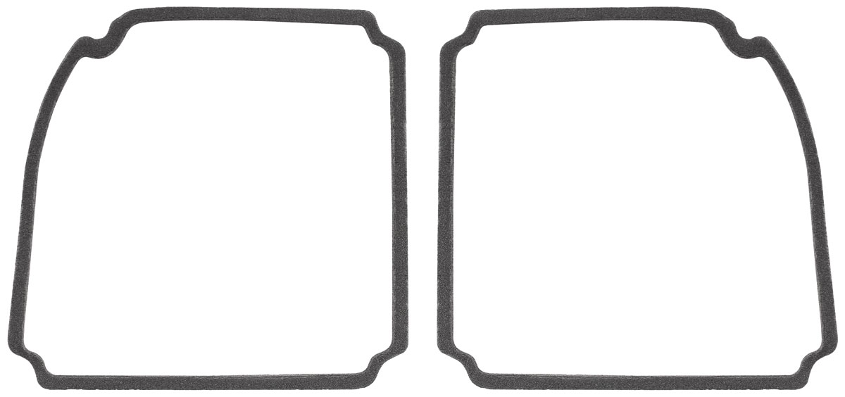 RESTOPARTS Tail Lamp Lens Gaskets, 1969 Chevelle Fits 1969
