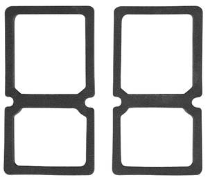 Tail & Back-Up Lamp Lens Gaskets, 1964 El Camino & Wagon, by RESTOPARTS