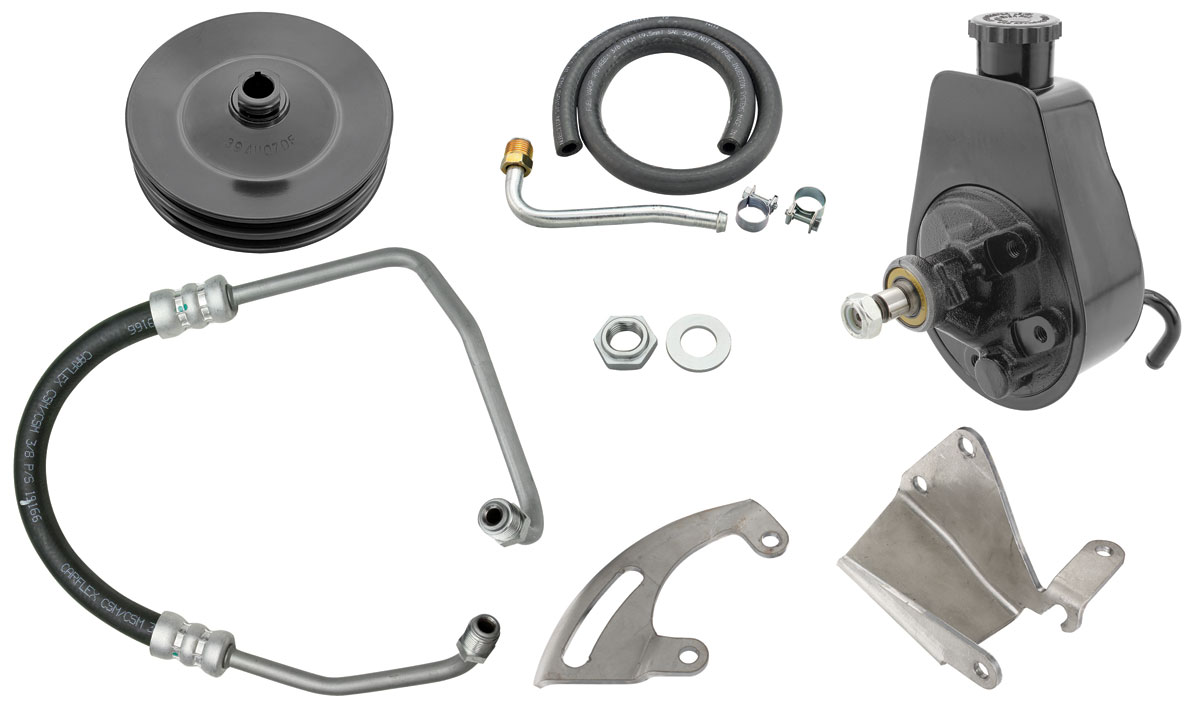 Photo of Power Steering Conversion Kit Big-Block (with Air Conditioning)
