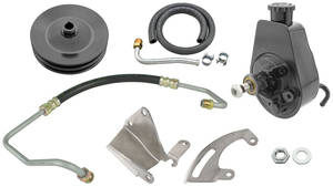 1972 El Camino Power Steering Conversion Kit Big-Block w/AC