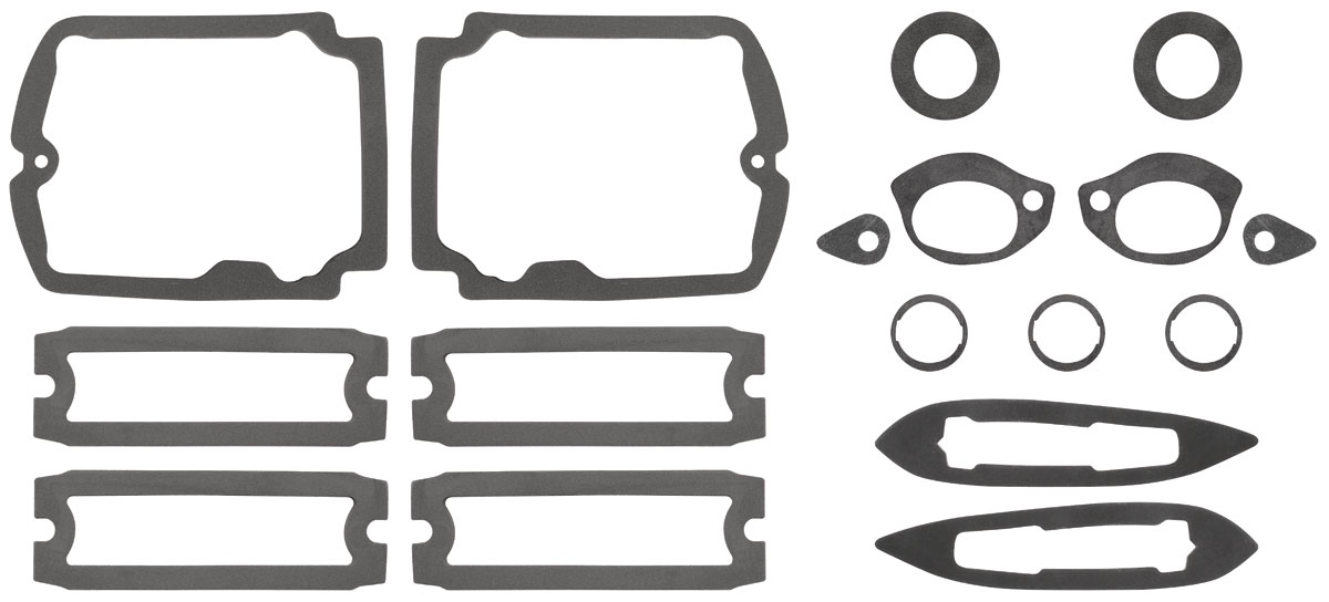 RESTOPARTS Paint Seal Kit, Full Body Chevelle Fits 1965