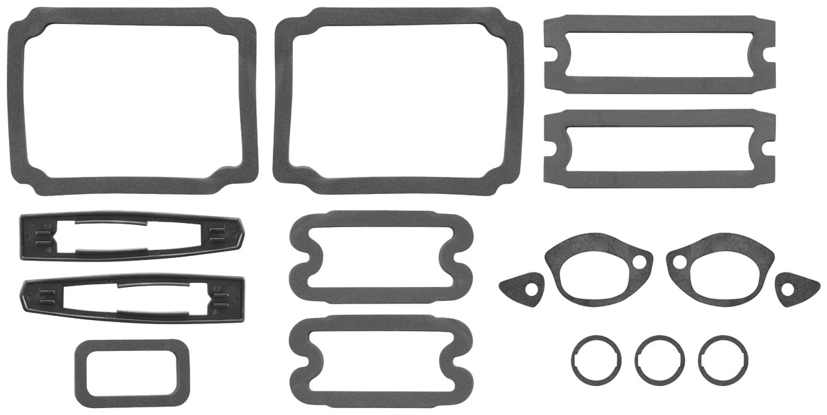 RESTOPARTS Paint Seal Kit, Full Body Chevelle Fits 1967