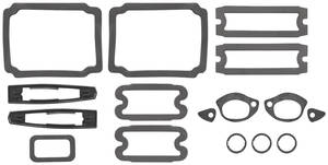 1967-1967 Chevelle Paint Seal Kit, Full Body Chevelle, by RESTOPARTS