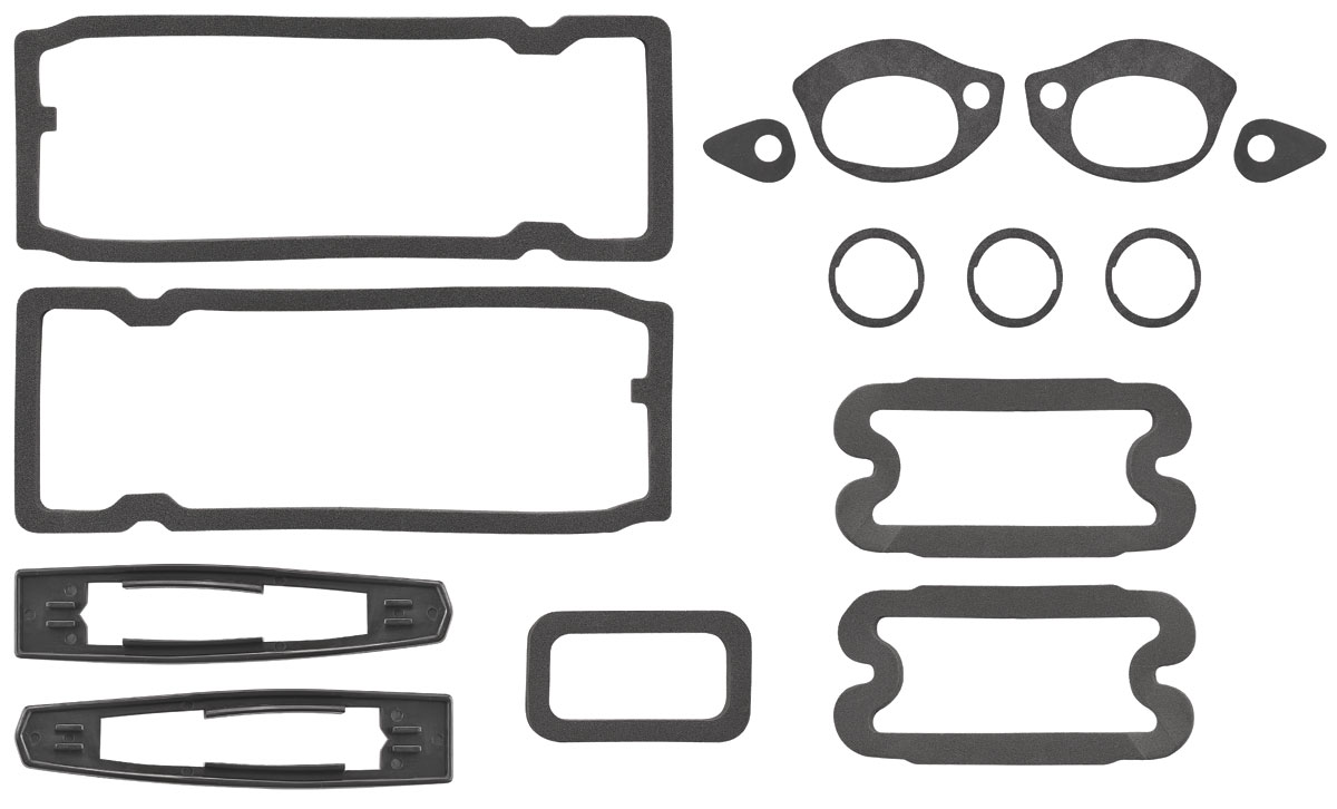 RESTOPARTS Paint Seal Kit, Full Body Chevelle Fits 1968