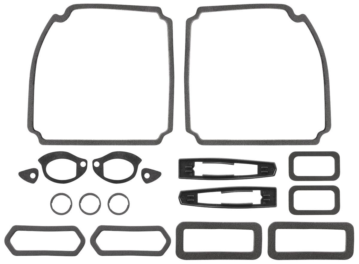 RESTOPARTS Paint Seal Kit, Full Body Chevelle Malibu Fits