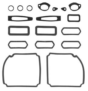 1969-1969 Chevelle Paint Seal Kit, Full Body Chevelle SS, by RESTOPARTS