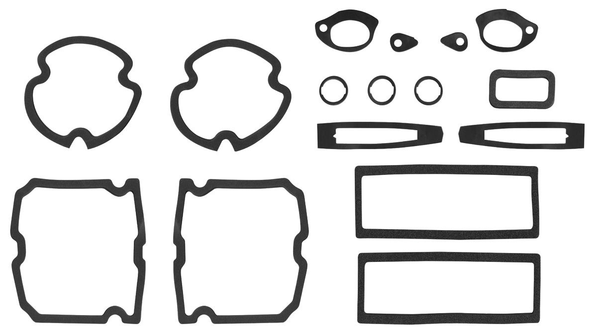 RESTOPARTS Paint Seal Kit, Full Body Chevelle Fits 1971-72