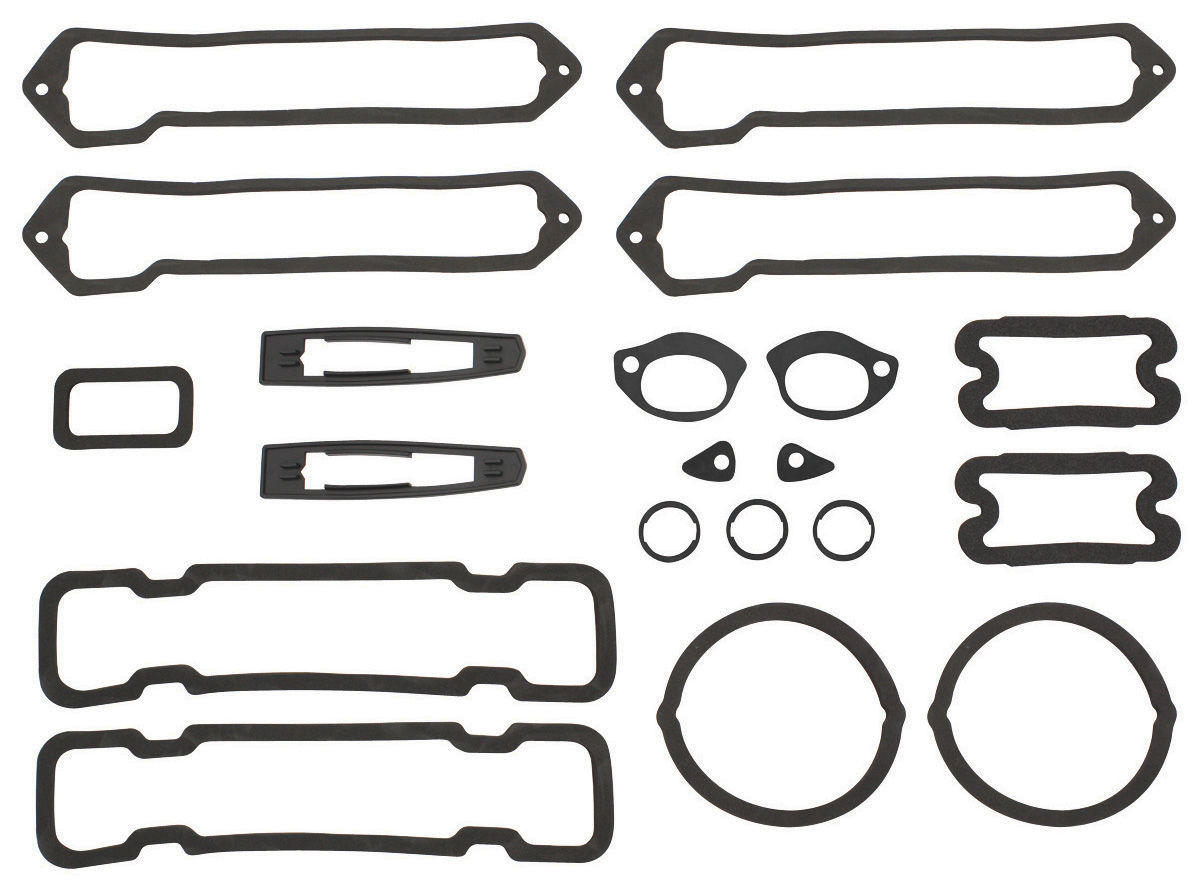 restoparts paint seal set  full body fits 1970 monte carlo