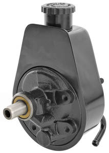 1978 Reproduction Power Steering Pump and Reservoir Malibu/El Camino 3.8L w/o AC