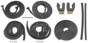 1959-1960 Bonneville Weatherstrip Kits, Stage I (Coupe) All Models