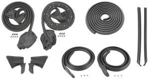 1974-1976 Catalina Weatherstrip Kits, Stage I (Coupe) Bonneville/Catalina