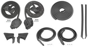 1974-76 Weatherstrip Kits, Stage I (Coupe) Bonneville/Catalina