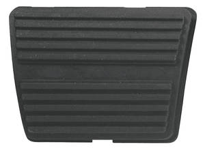 1964-1972 Skylark Clutch & Brake Pedal Pad, 4-Speed Drum Brake/Clutch, by RESTOPARTS