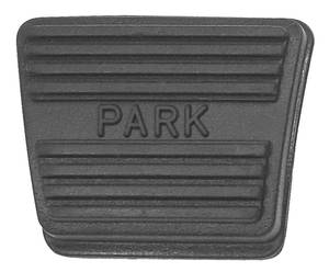 1976-1977 Grand Prix Parking Brake Pedal Pad All Models, by RESTOPARTS