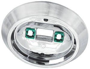 1969-72 Skylark Dome Light Chrome Base Center