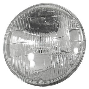 "1958-74 Cadillac Headlight, Factory Replacement (Inner - High) 5-3/4"" Single Filament"