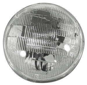 "1958-1974 Cadillac Headlight, Factory Replacement (Outer - High/Low) 5-3/4"" Double Filament"