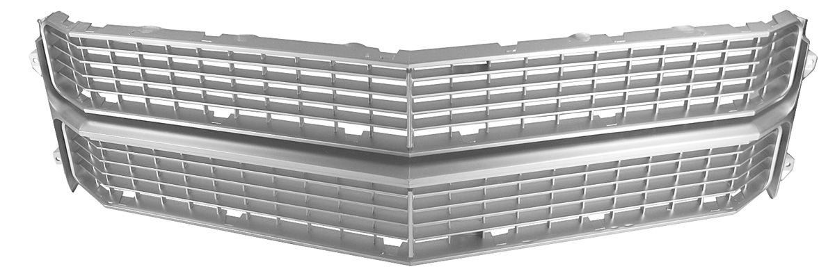 Photo of Grille, 1970 Center silver