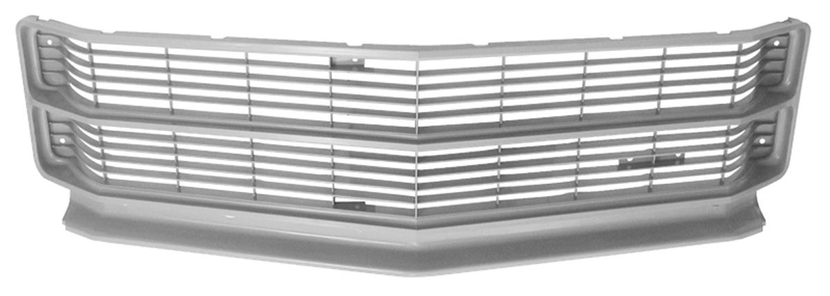 Photo of Grille, 1971 Center non-SS (silver)