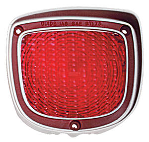 Tail Lamp Lens, 1973-77 El Camino & Wagon