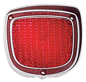 Tail Lamp Lens, 1973-77 El Camino & Wagon
