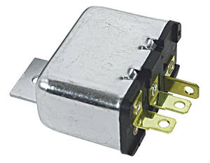 Chevelle Air Cleaner Intake Valve Relay, 1970-72