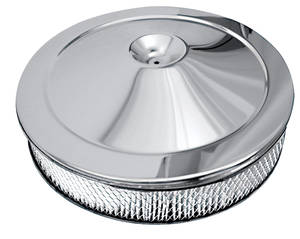 El Camino Air Cleaner, 1966-69 396 Open Element Chrome