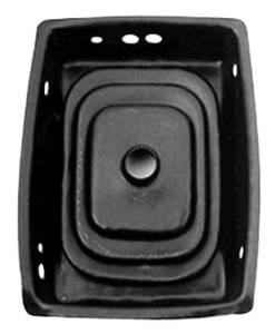 1966-67 Chevelle Gear Shifter Boot, Rubber Upper, Floor Console