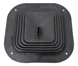 1968-72 Chevelle Gear Shifter Boot, Rubber No Floor Console
