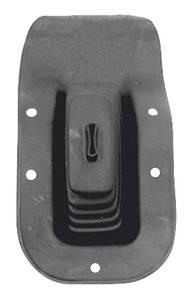 1968-1972 El Camino Gear Shifter Boot, Rubber w/Floor Console, by RESTOPARTS