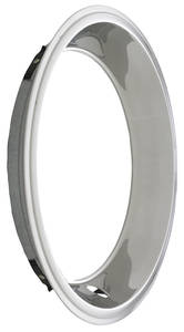 "1967-71 Bonneville Wheel Trim Ring, Rally 14"" X 7"" (Stepped Lip, 2-1/4"" Deep), by GM"