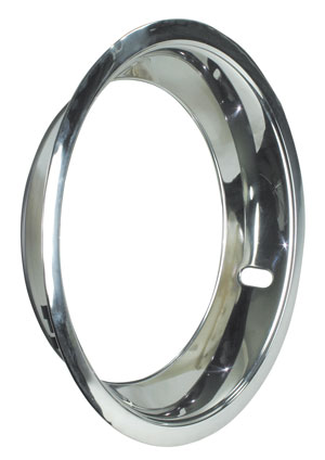 "1966-75 Chevelle Wheel Trim Ring; Super Sport & Rally Stepped Lip 15"" X 7""/15"" X 8"" SS (3-1/4"" Deep)"