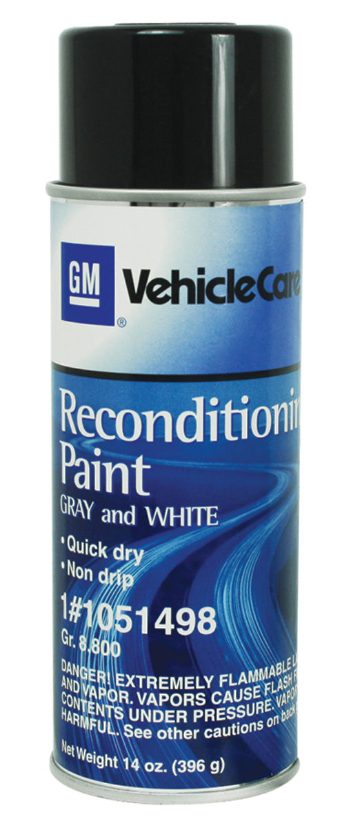 Photo of Trunk Spatter Paint, Aerosol gray/white - 13-oz.