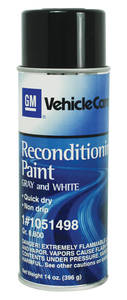 1961-66 GTO Trunk Spatter Paint Gray/White, 13-oz.