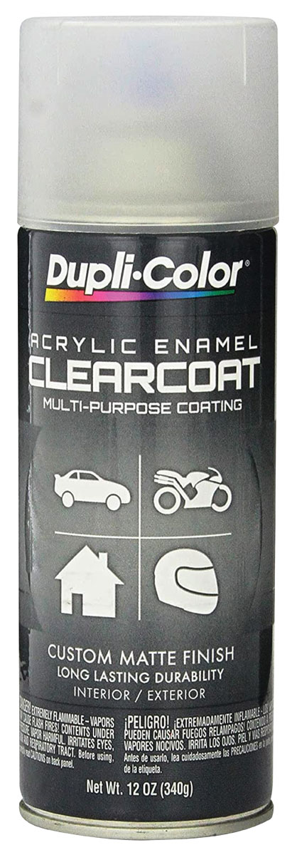 Photo of Trunk Spatter Paint (Aerosol Can) clear coat, 12-oz.